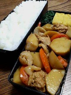 豚肉と里芋の炒め物ラー油風味