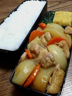 鶏肉とカブの柚子胡椒煮