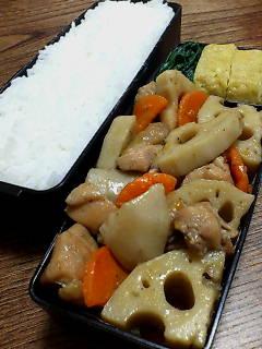 鶏肉とレンコンのピリ辛煮