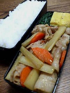 豚肉とウドの炒め物