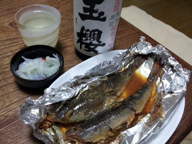 糠イワシと白魚の塩辛