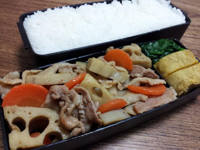 豚肉とレンコンの炒め煮