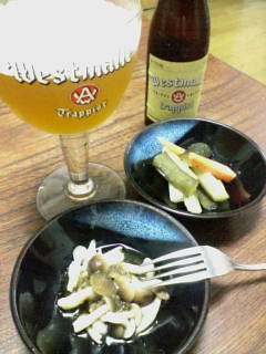 ベルギービールで一杯