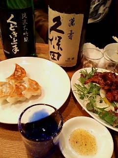 中華と日本酒