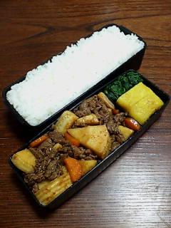 牛肉とタケノコ