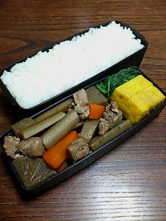 鳥肉と根菜
