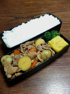 豚肉とジャガイモ