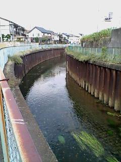 石神井川に戻る