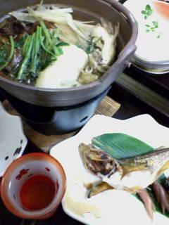 キリタンポ鍋とハタハタ